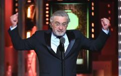 """Robert De Niro shouts """"f*ck Trump"""" live on TV at the Tony Awards"""