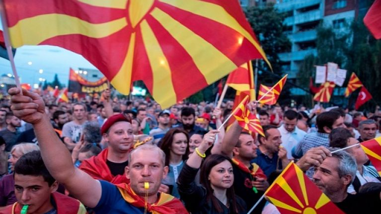 The country of Macedonia has changed its name