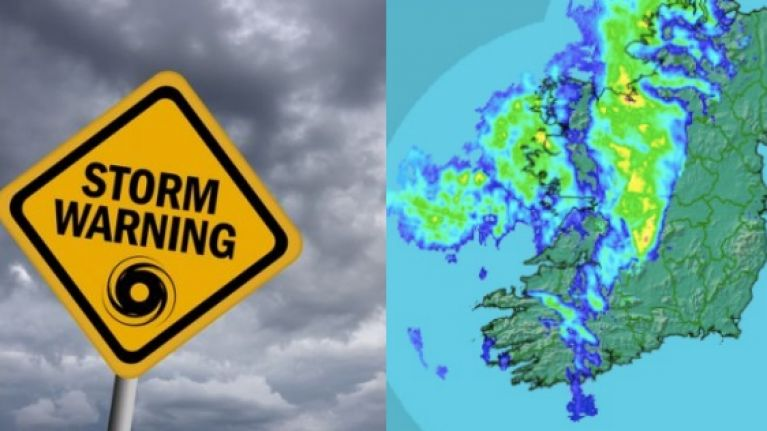 With Storm Hector approaching, here's what the weather will look like this week