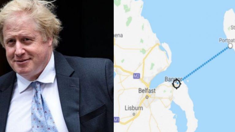 REPORT: Boris Johnson backs plans to build bridge connecting mainland Britain and Northern Ireland