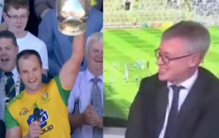 Joe Brolly's reaction after hearing the Donegal panel are 'using' a gynecologist is gas
