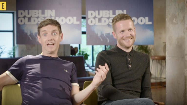 """""""Don't be scarlet!"""" - The stars of Dublin Oldschool give some great advice to Irish filmmakers"""