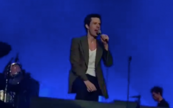 The Killers did an incredible cover of Whole of the Moon at their Dublin gig and that's not all