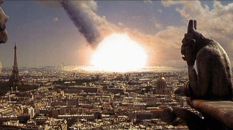 ผลการค้นหารูปภาพสำหรับ armageddon film scenes bomb paris