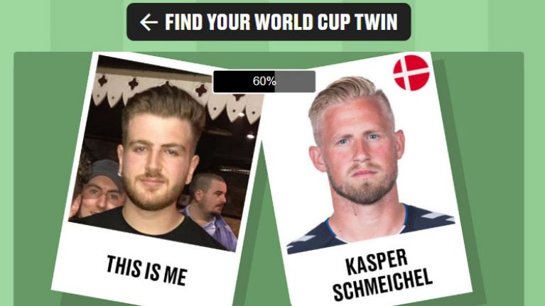 You can use this new website to help you find your World Cup twin