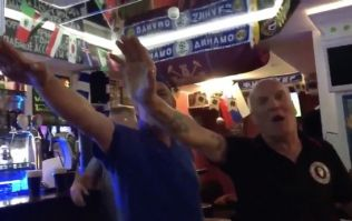 WATCH: England fans perform Nazi salutes in Russia