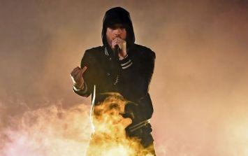 WATCH: Eminem's sign language interpreter might be the real 'Rap God'