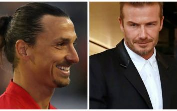 Zlatan and Beckham have made a very unique bet ahead of the Sweden V England match