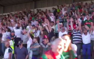 WATCH: Scenes at the final whistle of Kildare vs Mayo are what GAA is all about