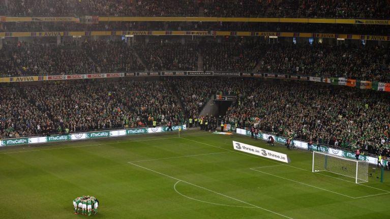 Here's the Ireland team to play Denmark tonight
