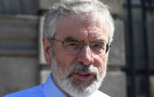 Gerry Adams' house in Belfast has been attacked with an explosive device