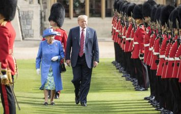 Donald Trump broke royal protocol not once but twice while meeting Queen Elizabeth II
