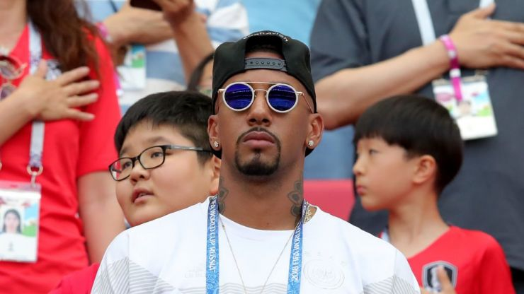 Comedian accused of racially abusing German defender Jerome Boateng with blackface sketch