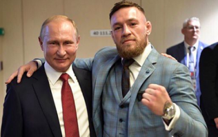 Conor McGregor met Vladimir Putin at the World Cup final and his comments are very controversial
