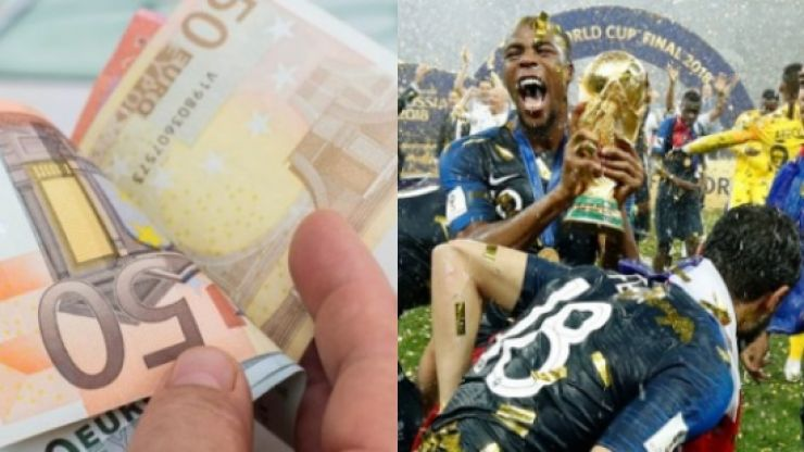 An incredible World Cup final bet sees punter landing €10,000