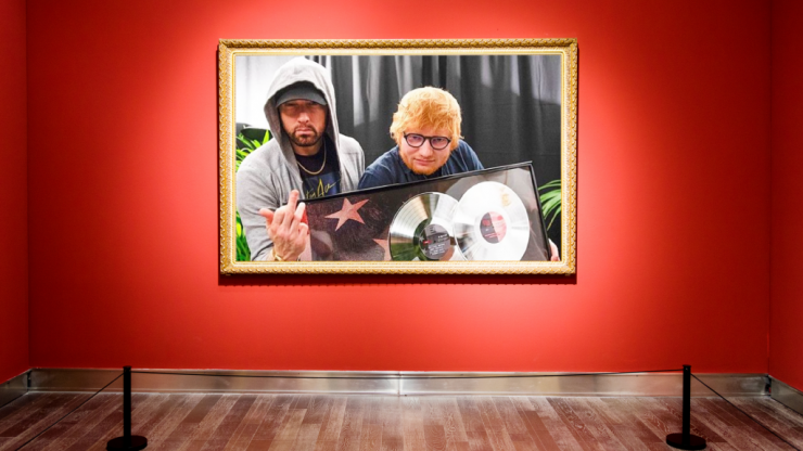 A scene-by-scene breakdown of the hardest photograph of our time, featuring Eminem and Ed Sheeran