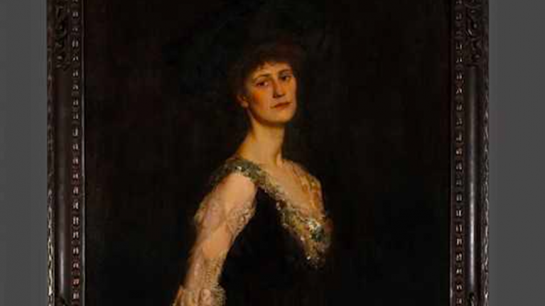 Picture of Countess Markievicz, first woman elected to House of Commons, unveiled in Westminster