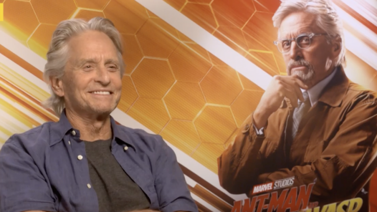 EXCLUSIVE: Michael Douglas talks Avengers 4 and hanging out in Dublin with Jack Nicholson