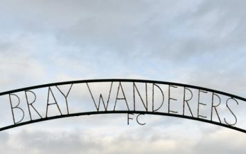 Bray Wanderers fans have set up a GoFundMe to help pay their players