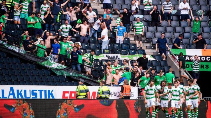 WATCH: Shamrock Rovers fans celebrate crucial Europa League qualifier goal