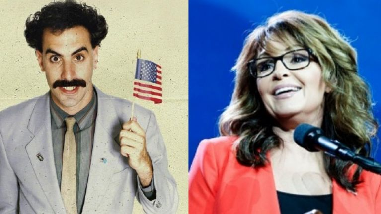 Sacha Baron Cohen is slammed by Sarah Palin after catching her with a 'truly sick' prank