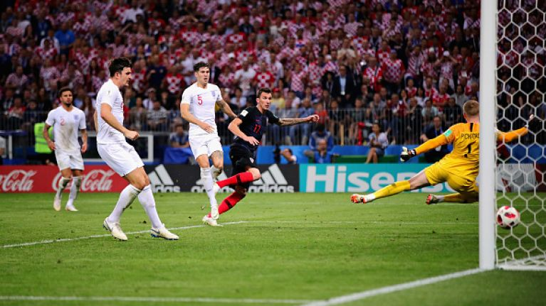 England's going home, they're going home, they're going home, they're going...