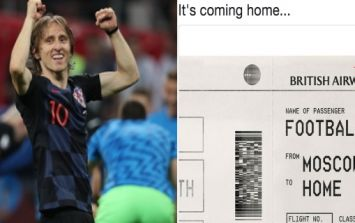 These 'It's Coming Home' predictions are looking very foolish now