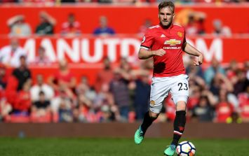 PIC: Luke Shaw has shared a photo of himself and people don't believe it's him