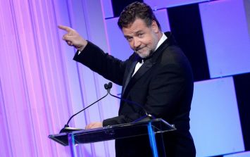 Russell Crowe proves once again how much he loves Ireland with Boyzone comment