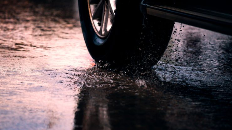 RSA issues road safety alert for 'thundery downpours'