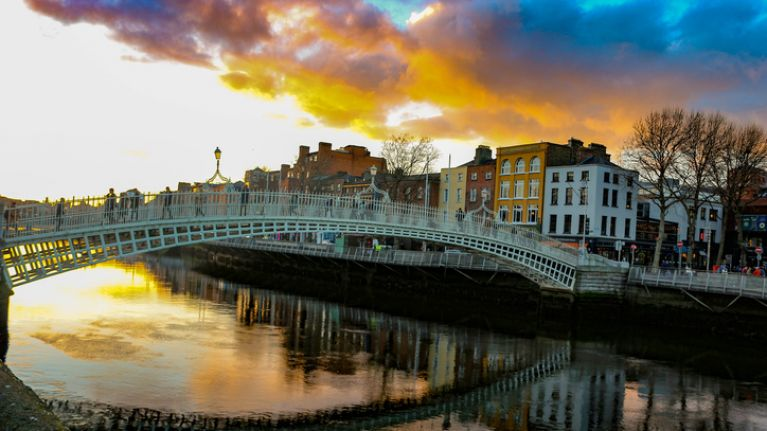 'Up the Dubs' banner will no longer be allowed on the Ha'penny Bridge