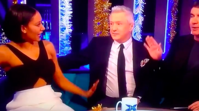 Louis Walsh explains why he grabbed Mel B's backside on television