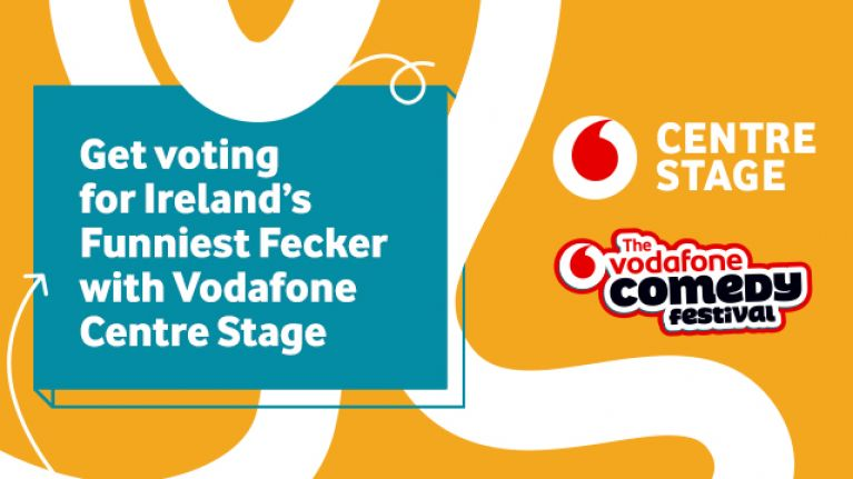 COMPETITION: Vote for 'Ireland's Funniest Fecker' and win tickets to the Vodafone Comedy Festival