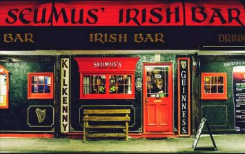 The Irish pub is really making a push for Best Irish Pub Of The Year, despite being 19,000km from Ireland