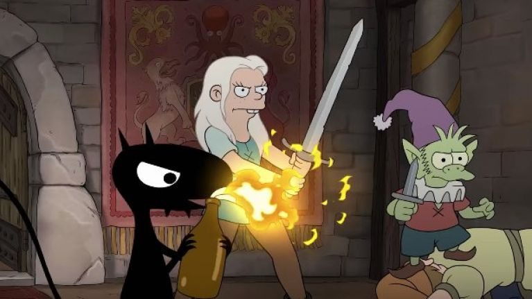 WATCH: The creator of The Simpsons and Futurama is back with his first new show in 19 years