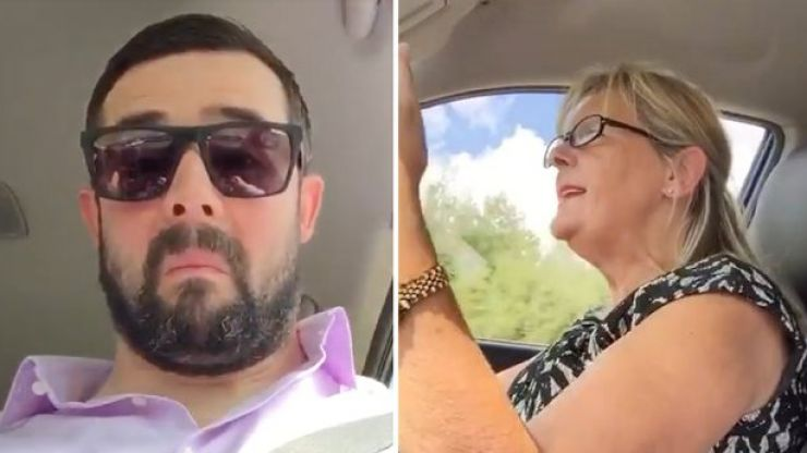 WATCH: Irish wedding singer's prank prompts angry, expletive-filled response from his mother