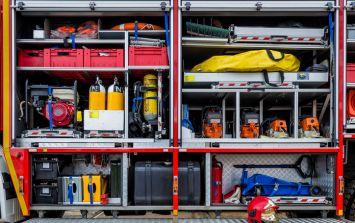 Some of the stolen Dublin Fire Brigade equipment has been returned