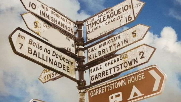 QUIZ: Can you name what county these Irish road signs are in?