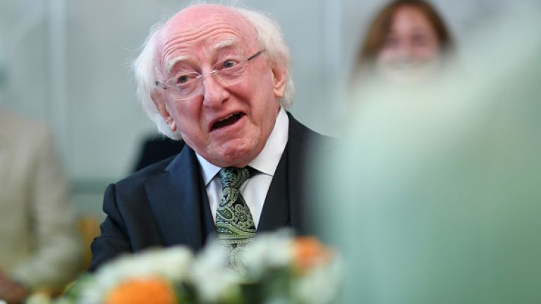 Michael D. Higgins dramatically leads the way in latest Presidential opinion poll