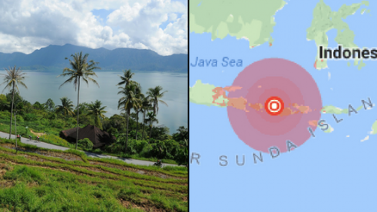 Tsunami warning issued to Bali, Lombok and the rest of Indonesia following major earthquake