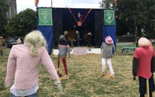 PICS: There was a Scarecrow Festival in Laois this weekend and somebody perfectly recreated Electric Picnic... with scarecrows