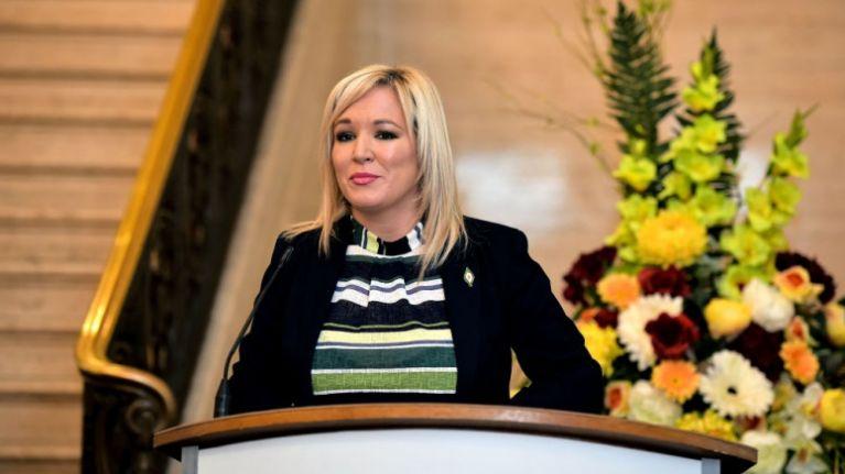 Sinn Féin NI leader Michelle O'Neill suffers broken leg in accident