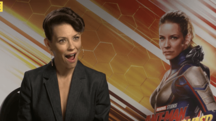 Evangeline Lilly missed out on one big part of Ant-Man and The Wasp, but she might get to do it in Avengers 4