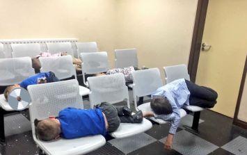 Dublin Housing Executive issue statement following photo of sleeping children in Tallaght Garda Station