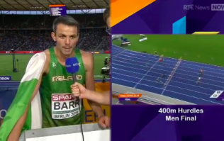 """I knew I could pick him off"" — Thomas Barr gives deadly post-race interview"