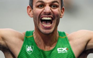 Watch the moment Thomas Barr wins bronze in 400m hurdle at European Championships