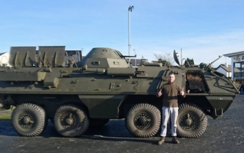 Somebody in Donegal is selling an Army personnel carrier on DoneDeal and it could be yours
