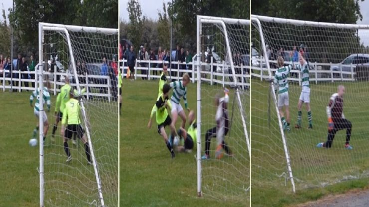 WATCH: Soccer player shows Neymar-esque dribbling skills while scoring wonder goal in Donegal