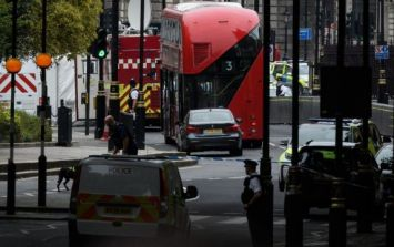 "Westminster barrier car crash is being treated as ""suspected terror attack"""