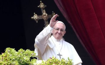Travelling to see The Pope? You better book your train tickets fast